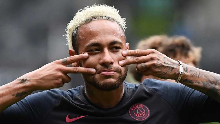 Neymar tiene claro que no desea seguir en el PSG, pero ¿en dónde irá a jugar? (Foto Prensa Libre: AFP)