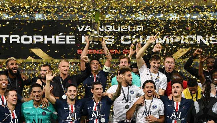 El PSG quiere ser uno de los dominadores de Europa. (Foto Prensa Libre: AFP)