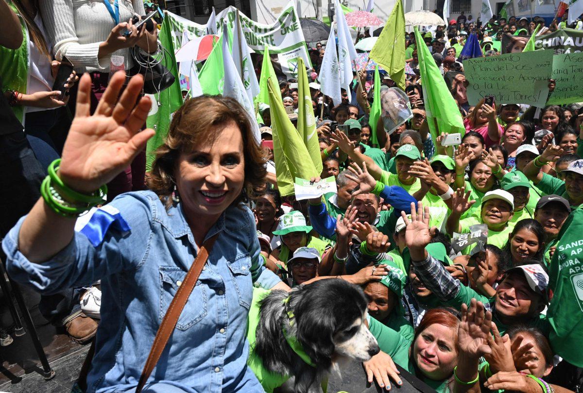 Sandra Torres mantendrá su inmunidad hasta que finalice el proceso electoral