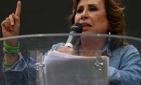 La excandidata presidencial del partido Unidad Nacional de la Esperanza, Sandra Torres, fue derrotada este 11 de agosto en segunda vuelta por Alejandro Giammattei, del partido Vamos (Foto Prensa Libre/AFP).