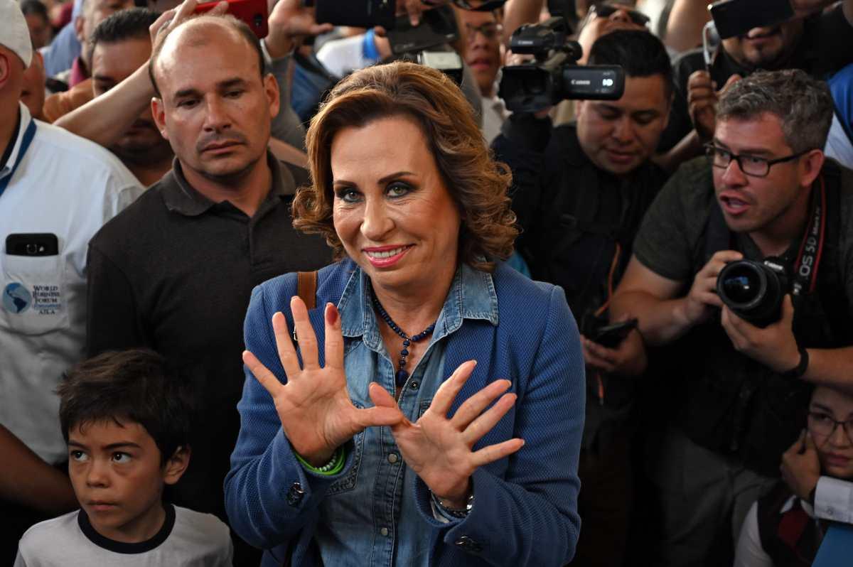 Sandra Torres, una vida en busca de la Presidencia