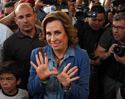 Sandra Torres quiso competir por la presidencia en el 2011 pero le fue negada la inscripción, luego fue derrotada en el 2015 y 2019. (Foto Prensa Libre: Hemeroteca PL)