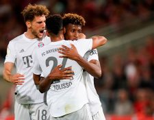 El Bayern Múnich quiere volver a ser el dominante en la Bundesliga. (Foto Prensa Libre: AFP)