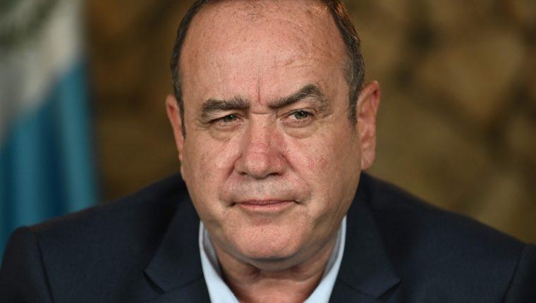 Giammattei ofreció otras soluciones para combatir la corrupción alternas a Cicig, como la creación de una comisión especial vinculada al poder ejecutivo. (Foto Prensa Libre: AFP)