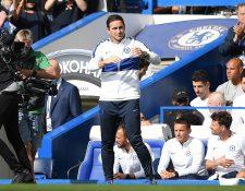 El entrenador Frank Lampard debutó de local con el Chelsea pero su equipo no pudo celebrar. (Foto Prensa Libre: AFP)