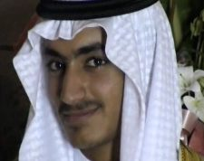 """(FILES) An undated file video grab released by the Central Intelligence Agency (CIA) on November 1, 2017 and taken by researchers from the Federation for Defense of Democracies' Long War Journal, shows an image of Hamza Bin Laden. - US Secretary of Defense Mark Esper has  confirmed the death of Hamza Bin Laden, the son and designated heir of Al-Qaeda founder Osama bin Laden. """"That's my understanding,"""" Esper said in an interview late on August 21, 2019, with Fox News, when asked if Hamza bin Laden was dead. """"I don't have the details on that. And if I did I'm not sure how much I could share with you,"""" he added. (Photo by Handout / FEDERATION FOR DEFENSE OF DEMOCRACIES / AFP) / RESTRICTED TO EDITORIAL USE - MANDATORY CREDIT """"AFP PHOTO /  FEDERATION FOR DEFENSE OF DEMOCRACIES' LONG WAR JOURNAL"""" - NO MARKETING NO ADVERTISING CAMPAIGNS - DISTRIBUTED AS A SERVICE TO CLIENTS == TO GO WITH AFP STORY by Dave Clark """"US-ATTACKS-QAEDA-SPY-PAKISTAN-IRAN"""" /"""
