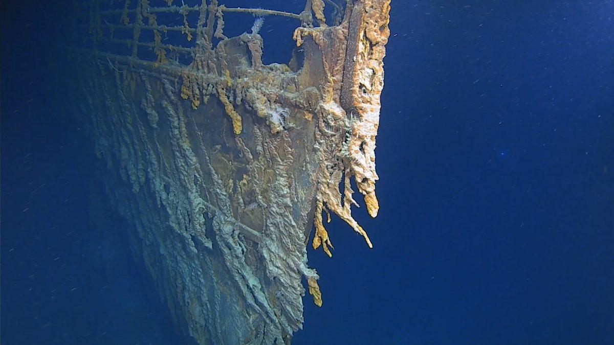 Un submarino golpeó el Titanic y el gobierno de EE.UU. quiso mantenerlo en secreto