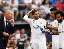 Sergio Ramos habló de Neymar después del empate frente al Valladolid. (Foto Prensa Libre: AFP)