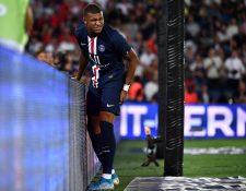 Kylian Mbappé podría volver a jugar pronto con el PSG. (Foto Prensa Libre: AFP)