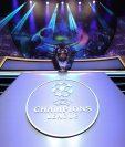En una ceremonia de gala se definieron los ocho grupos de la fase de grupos de la Champions League 2019-2020. (Foto Prensa Libre: AFP)