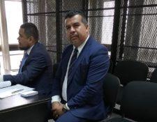 Juan Carlos Pellecer, alcalde electo de San Juan Sacatepéquez, es absuelto de dos delitos. (Foto Prensa Libre: Kenneth Monzón).
