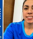 Ana Lucía Martínez fue descartada para enfrentar a El Salvador en doble partido amistoso. (Foto Prensa Libre: Twitter de Ana Lucía Martínez y Fedefut)