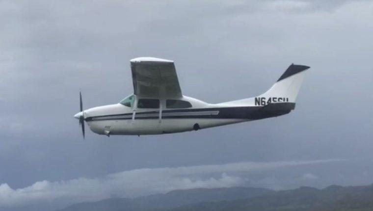 La avioneta cruzó el espacio aéreo costarricense, pero fue identificada y patrullada por el Ministerio de Seguridad local.