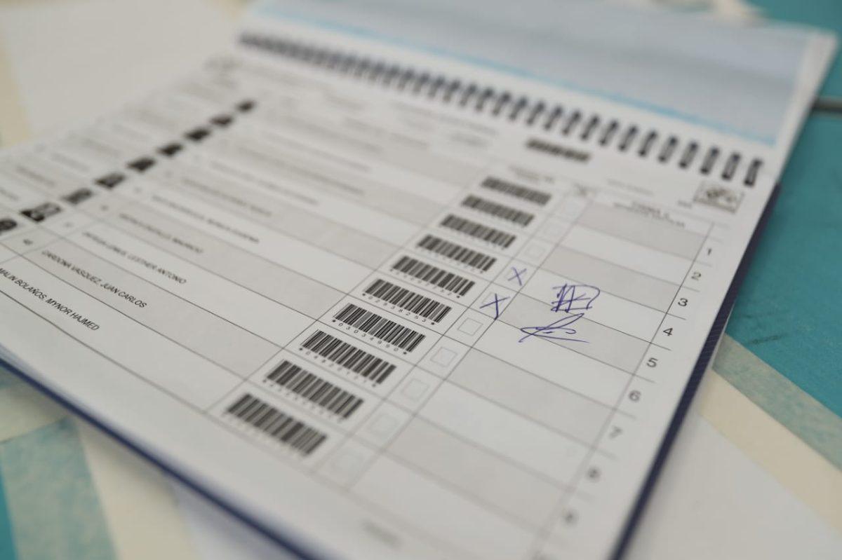 Participación ciudadana en la segunda vuelta no supera el 30% del padrón