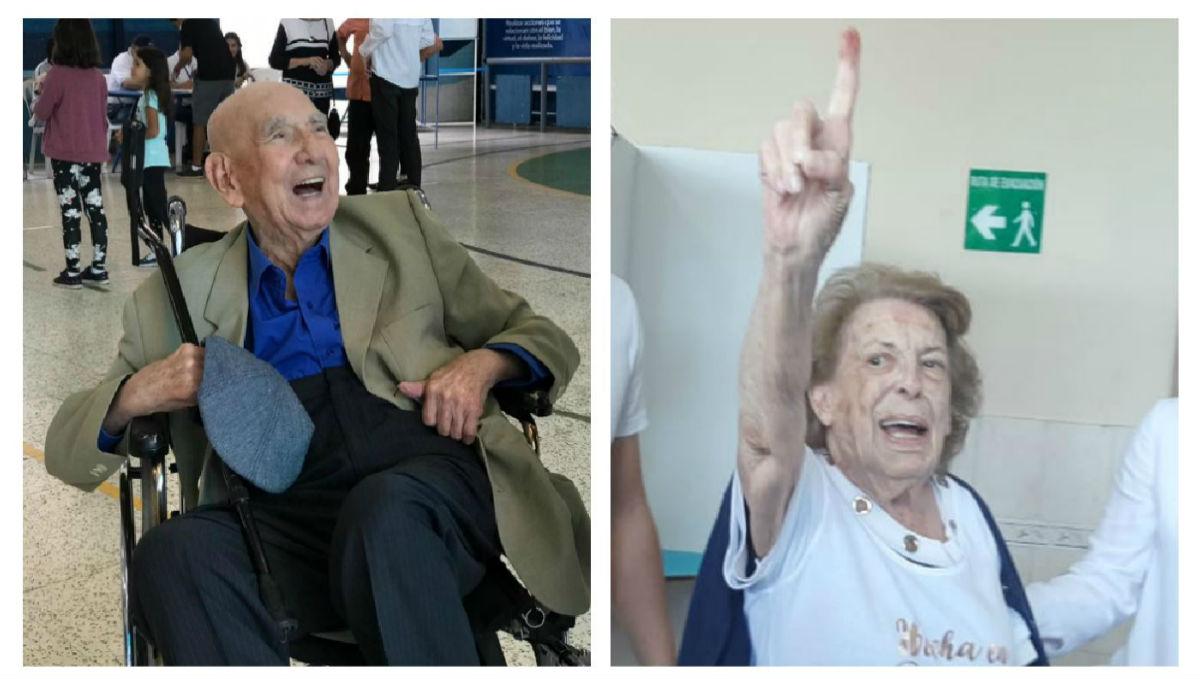 Adultos mayores inspiran y motivan a guatemaltecos a que acudan a votar