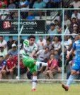 El equipo colonial empató a cero goles contra Sanarate. (Foto Prensa Libre: Antigua GFC)