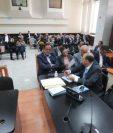 La audiencia de primera declaración para las siete personas comenzó el 8 de julio. (Foto Prensa Libre: Hemeroteca PL)