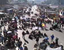 Integrantes de Codeca bloquearán unos 26 puntos del país. (Foto Prensa Libre: Hemeroteca PL).