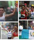 José Alejandro Barrondo ingresa a la meta, en Lima 2019. (Foto Prensa Libre: Carlos Vicente)