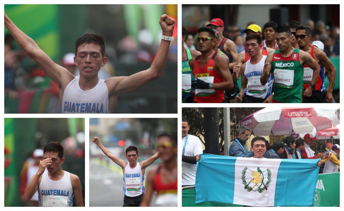 José Alejandro Barrondo gana bronce en la marcha de Lima 2019