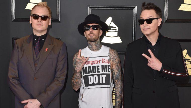 Entre las múltiples personas que presenciaron el tiroteo o estuvieron cerca del lugar están los integrantes de Blink-182, una popular banda estadounidense formada en la década de 1990. (Foto Prensa Libre: Servicios).