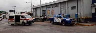 Bomberos y Policía Nacional Civil atendieron la emergencia en la cárcel de Jalapa, donde el 24 de febrero de este año hubo una riña  (Foto Prensa Libre: Hemeroteca PL)