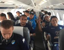 El plantel de Comunicaciones viaja a Honduras en busca del pase a octavos de final. (Foto Prensa Libre: Comunicaciones FC)