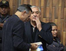 Juan de Dios Rodríguez y Otto Pérez figuran en este nuevo caso de corrupción. (Foto Prensa Libre: Hemeroteca PL)