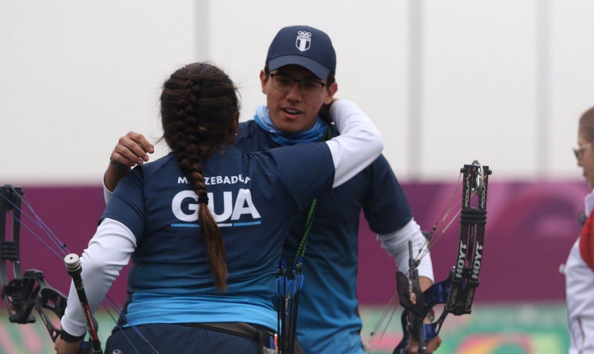 María José Zebadua y Marcelo del Cid conquistan la plata panamericana en tiro con arco