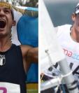Charles Fernández y Juan Maegli se cubrieron de oro para Guatemala durante los Juegos Panamericanos Lima 2019. (FotoS Prensa Libre: Hemeroteca PL)