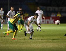 Guastatoya y Comunicaciones definieron el boleto a la ronda de cuartos de final de la Liga Concacaf. (Foto Prensa Libre: Francisco Sánchez)