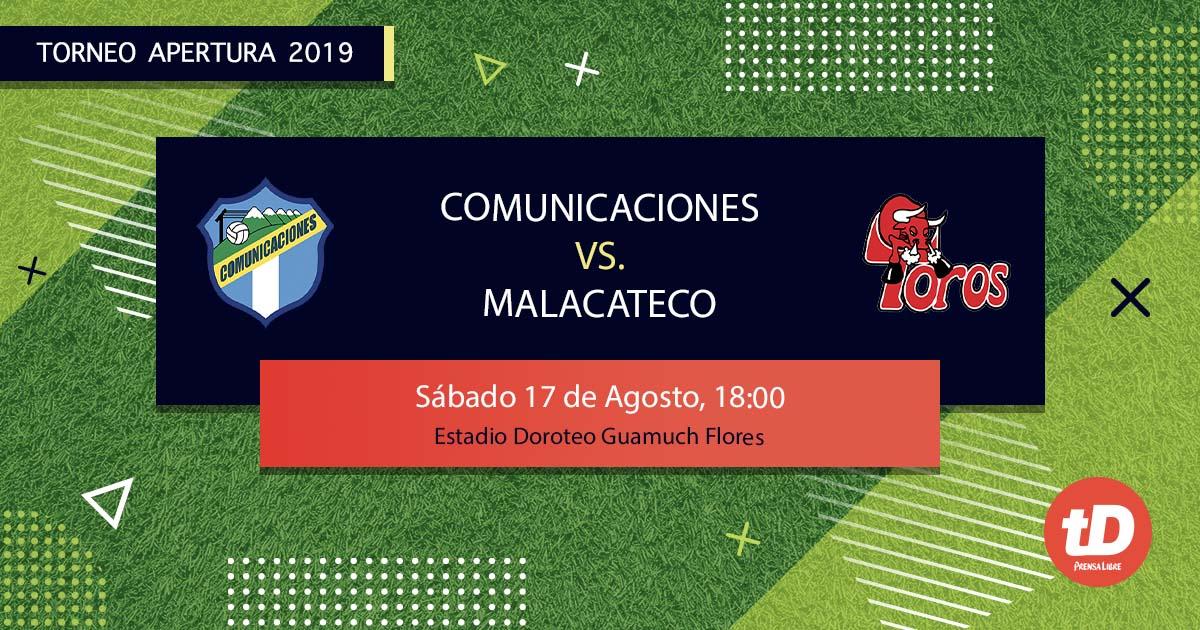 EN DIRECTO | Comunicaciones vs Malacateco