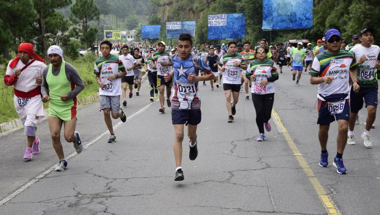 La competencia pondrá 2 mil cupos para inscripciones en ambas categorías. (Foto Prensa Libre: Cortesía)