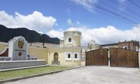 En el área del centro de añejamiento también hay un museo de ron, en Quetzaltenango. (Foto Prensa Libre: Juan Carlos Rivera)