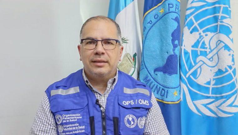 Romeo Montoya, médico asesor de enfermedades transmisibles y vigilancia de la salud de la OPS/OMS. (Foto Prensa Libre: Cortesía OPS/OMS)