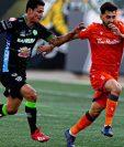 Antigua GFC cayó 2-1 contra el Forge FC, en el duelo de ida la ronda preliminar de la Liga Concacaf. (Foto Prensa Libre: Forge FC).