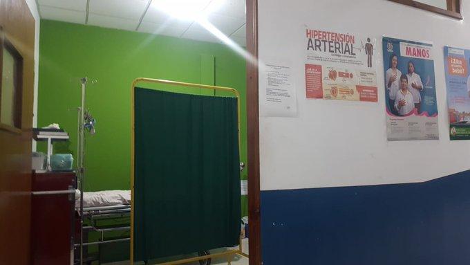 El agente fue hospitalizado en Sololá. (Foto Prensa Libre: PDH)