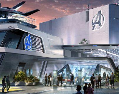 Esta es una de las imágenes con las que Disney anunció que los Avengers estarán presentes en tres de sus parques. (Foto Prensa Libre: AFP)