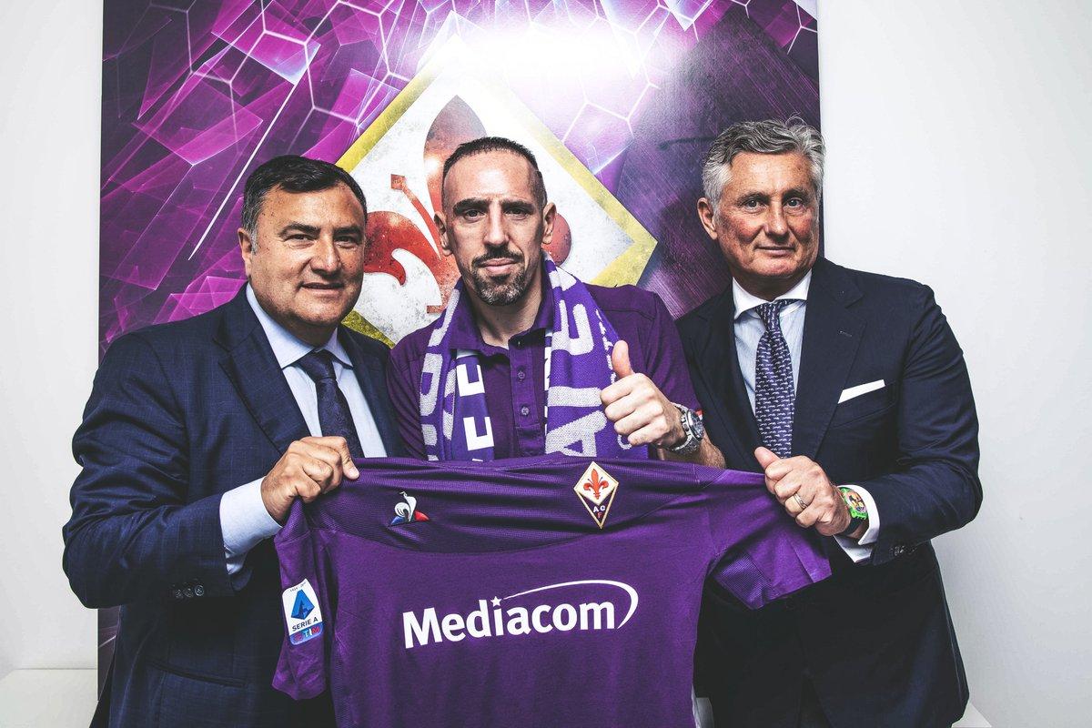 El veterano futbolista Franck Ribéry inicia una nueva aventura en la Fiorentina