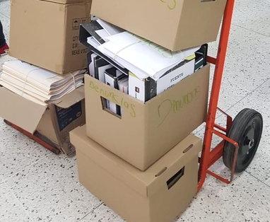 En días recientes la Cicig entregó al MP documentos relacionados con las investigaciones desarrolladas. Foto Prensa Libre: Hemeroteca PL