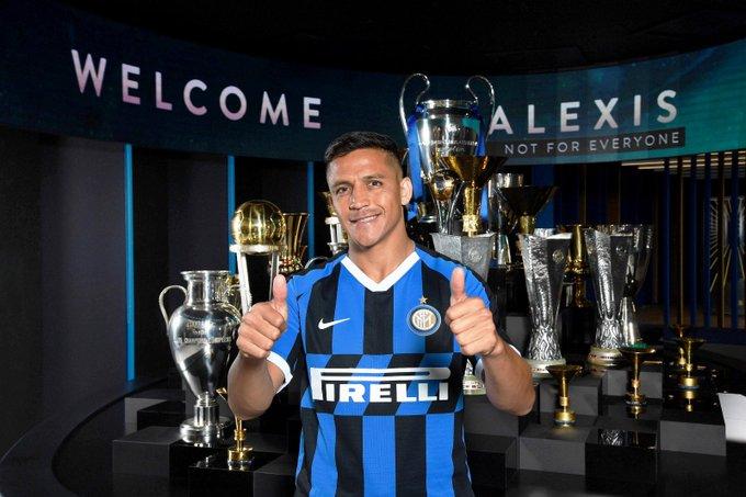 Alexis Sánchez es el refuerzo de lujo del Inter de Milán para la temporada 2019-2020