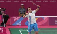 Raúl Anguiano ganó el título parapanamericano de badminton en Lima 2019. (Foto Prensa Libre: COG)