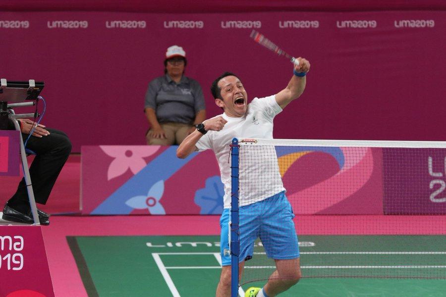 Raúl Anguiano pasa a la final de parabádminton de los Juegos Parapanamericanos Lima 2019