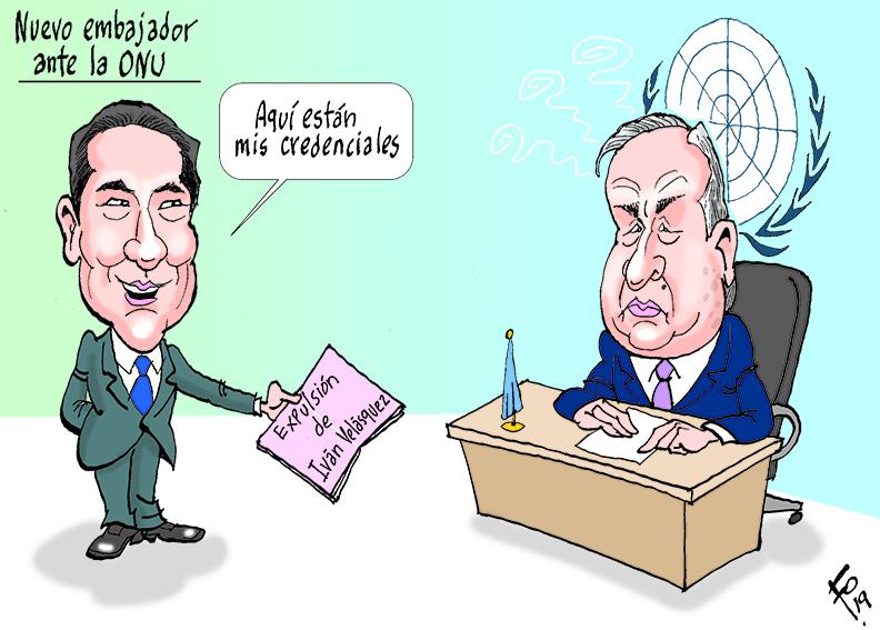 Fo: Nuevo embajador ante la ONU