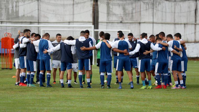 La Selección de Guatemala seguirá entrenando aún cuando la eliminatoria se juege hasta el 2021 (Foto Prensa Libre: Hemeroteca PL)