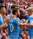 El Manchester City es uno de los equipos más valorados de la Premier League y candidato a conquistar un nuevo título. (Foto Prensa Libre: AFP).