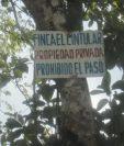 Finca del exministro Sinibaldi en Santa Rosa. (Foto Prensa Libre: Cortesía).