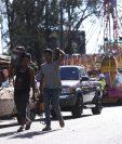 Para este año se implementa un operativo de seguridad en el campo de la Feria de Jocotenango. (Foto Prensa Libre: Miriam Figueroa)