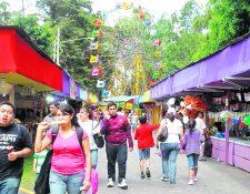 Durante agosto, los turistas nacionales y extranjeros pueden visitar la Feria de Jocotenango. (Foto Prensa Libre: Archivo).