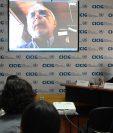"""La Cicig presentó el informe """"Guatemala: un Estado capturado"""" en su último día de actividades públicas previo a retirarse del país. (Foto Prensa Libre: Johan Ordóñez / Agence France-Presse AFP)"""